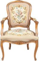 One Kings Lane Vintage Louis XVI-Style Fauteuil Chair