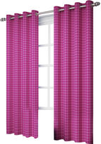 Eclipse My Scene Bexley Blackout Grommet-Top Curtain Panel