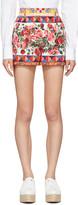 Dolce & Gabbana Pink Maiolica Shorts