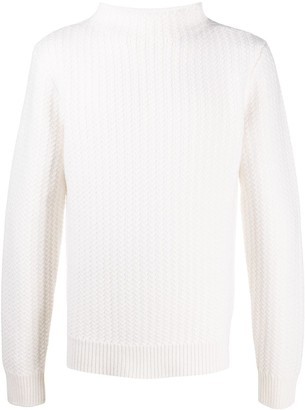 Dolce & Gabbana Chunky-Knit Wool Jumper