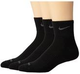 Nike Dri-FIT Cushion Quarter 3 Pack