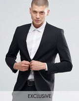 ONLY & SONS Skinny Lapelless Blazer with Stretch