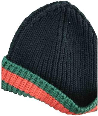 Gucci Black Wool Hats & pull on hats
