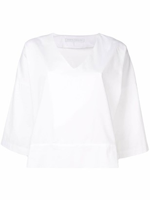 Societe Anonyme flare styled blouse