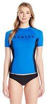 Oakley Women's Short-Sleeve Rashguard