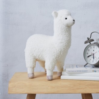 The White Company Luka Llama Toy, White, One Size