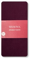 Merona Women's Plus-Size Tights Diamond Texture Atlantic Burgundy 2X