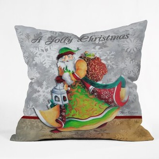 Henriksen A Jolly Christmas Throw Pillow The Holiday Aisle Size: Small