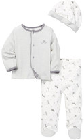 Little Me Safari Striped Take Me Home Set (Baby Boys)