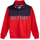 Tommy Hilfiger Colorblocked Half-Zip Sweater, Little Boys (2-7)