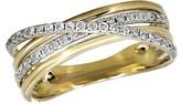 Effy Jewelry Effy D'Oro 14K Yellow Gold Diamond Ring, 0.29 TCW