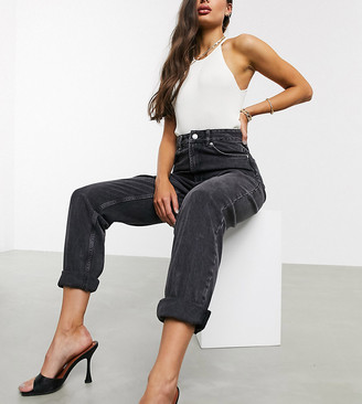 Asos Tall ASOS DESIGN Tall high rise 'slouchy' mom jeans in washed back