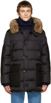 Moncler Black Down Gaze Jacket