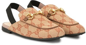 Gucci Kids Princetown loafers