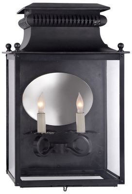 Visual Comfort Honore 3/4 Outdoor Wall Sconce