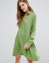Noisy May Debby Asymmetric Shirt Dress