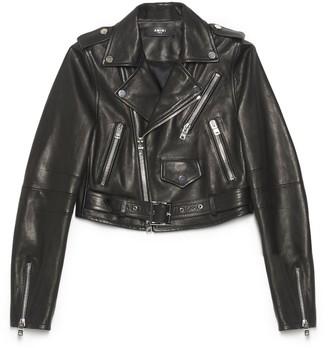 Amiri Cropped Biker Jacket