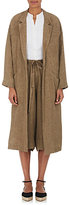 Masscob Women's Linen Drop-Shoulder Coat