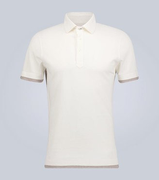 Brunello Cucinelli Exclusive to Mytheresa cotton polo shirt
