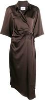 Nanushka Lais wrap dress