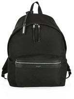 Thumbnail for your product : Saint Laurent Logo City Backpack