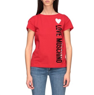 Love Moschino T-shirt Short-sleeved T-shirt With Logo Print