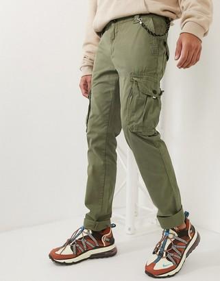Tom Tailor cargo trousers in khaki-Green