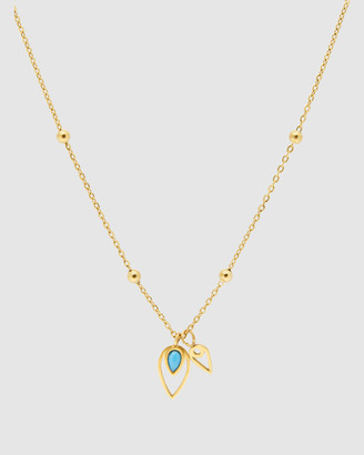 Pastiche - Women's Gold Necklaces - Peacock Necklace - Size One Size at The Iconic