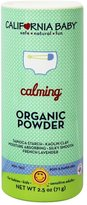 California Baby Non-Talc Powder, Canister - Calming, 2.5-Ounce