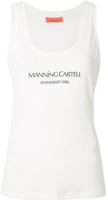 Manning Cartell Australia 'enthusiast Girl' Logo Tank Top