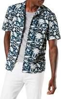 Dockers Banta Blazer Print Short-Sleeve Island Shirt
