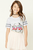 Forever 21 FOREVER 21+ Girls ACDC Tour Tee (Kids)
