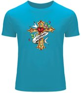 Ed Hardy Mens Printed Short Sleeve tops t shirts