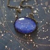 JuJu Treasures Virgo Zodiac Constellation Necklace