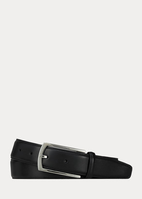 Ralph Lauren Leather Rectangle-Buckle Belt
