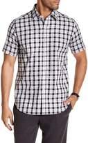 Robert Graham Aldersea Drive Short Sleeve Classic Fit Print Woven Shirt