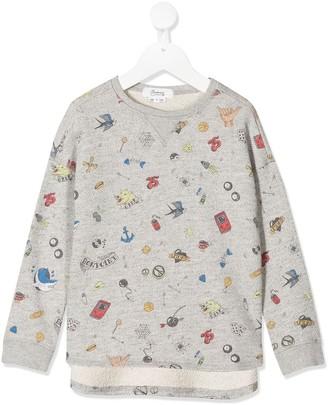 Bonpoint All-Over Print Sweatshirt