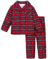 Little Me Boys Christmas Pajamas Infant or Toddler Plaid