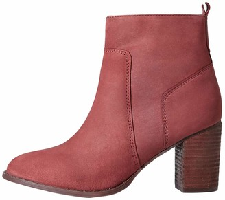 Find. Amazon Brand Heeled Leather Ankle Boots Brown Chocolate) US 10.5