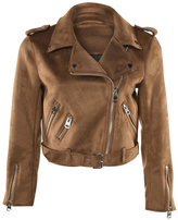 Dex Suede Motorcycle Jacket