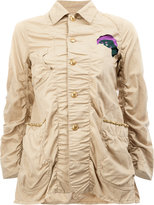 Undercover patched military jacket - women - Cotton/Linen/Flax - 3