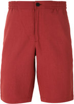 Theory Plymouth elastic waistband shorts - men - Cotton/Polyester - 34