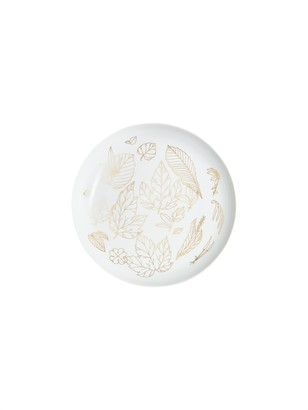 Dragonfly Herbier Precieux Large Serving Plate, Gold
