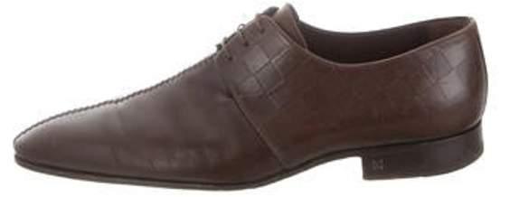 Louis Vuitton Damier Derby Shoes brown Damier Derby Shoes