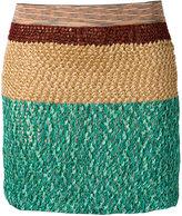 Missoni knitted mini skirt - women - Silk/Cotton/Nylon/Cupro - 38