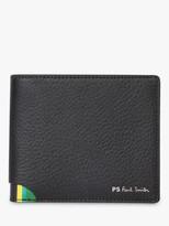 Paul Smith Corner Stripe Wallet, Black/Multi