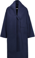 Oscar de la Renta Draped wool-blend coat