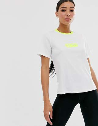 Asos 4505 4505 t-shirt in oversize loose fit-White