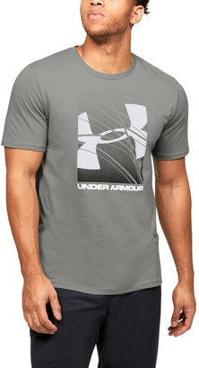 Under Armour Men's UA Branded Logo Graphic Short Sleeve