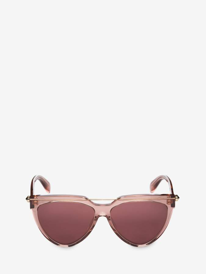 Alexander McQueen Piercing Shield Frame